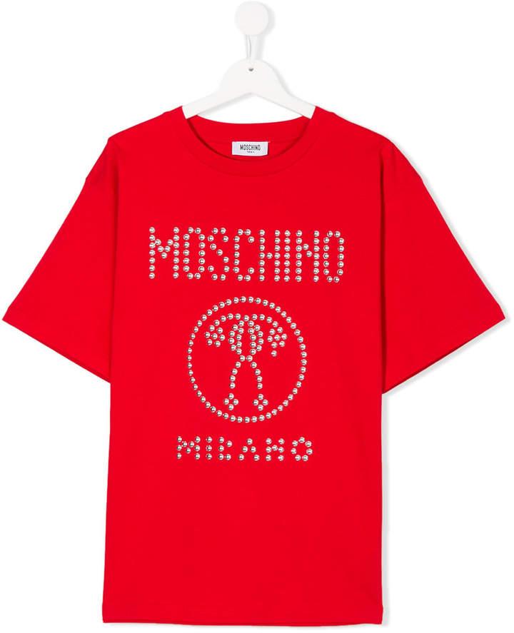 Moschino Kids T-Shirt mit Logo