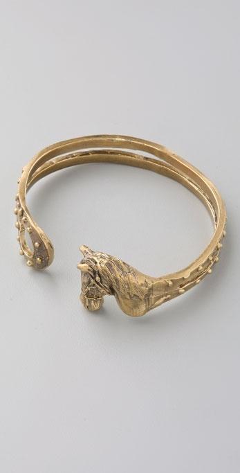 Alkemie Jewelry Horse Bangle