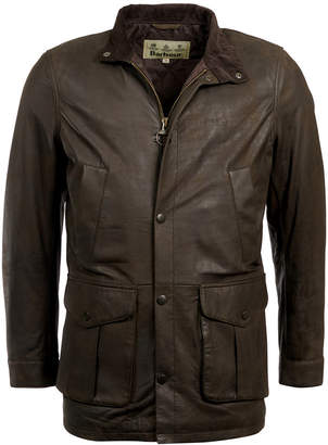 Barbour Men Thomas Leather Jacket