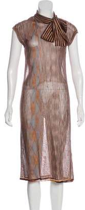 Missoni Stripe Print Midi Dress