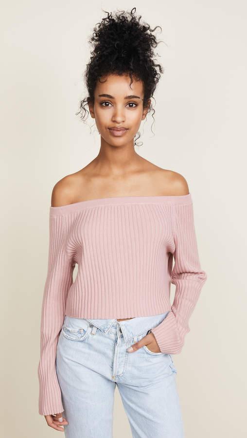 Sablyn Maja Off Shoulder Sweater
