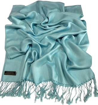 Solid Color Design Nepalese Shawl Pashmina Scarf Wrap Stole CJ Apparel NEW