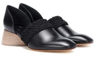 Loewe Flex 40 leather loafers