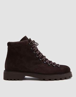 A.P.C. Jura Boots in Dark Brown