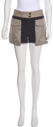 Rag & Bone Mini Asymmetrical Shorts