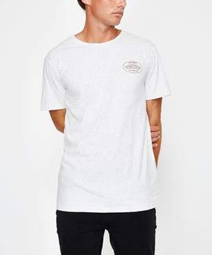 rhythm Service Short Sleeve T-shirt White Marle