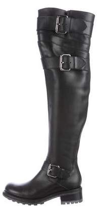 Free Lance Freelance Leather Over-The-Knee Boots