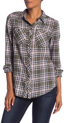 Joe Fresh Front Button Plaid Shirt