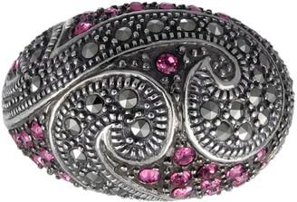 Suspicion Sterling Crystal & Marcasite Ring