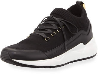 Buscemi Men's Run 1 Wool Trainer Sneakers