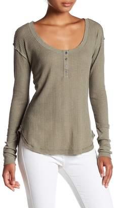 Melrose and Market Long Sleeve Thermal Shirt