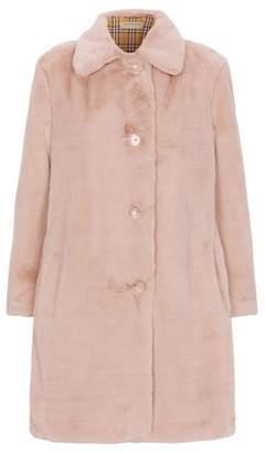 Burberry Faux Fur Coat