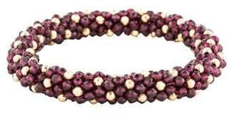 Meredith Frederick Jewelry 14K & Garnet Bead Bracelet