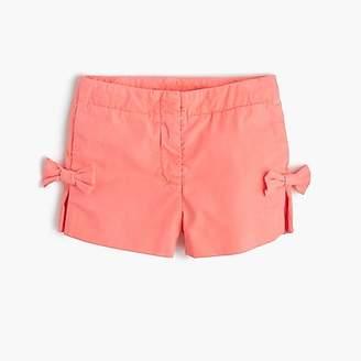 J.Crew Girls' bow short