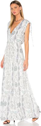 Parker Luna Maxi Dress $365 thestylecure.com