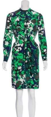 Bottega Veneta Silk Printed Dress