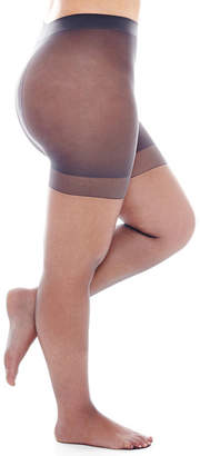 JCPenney BERKSHIRE HOSIERY Berkshire Ultra-Sheer Control Top Pantyhose - Queen-Petite