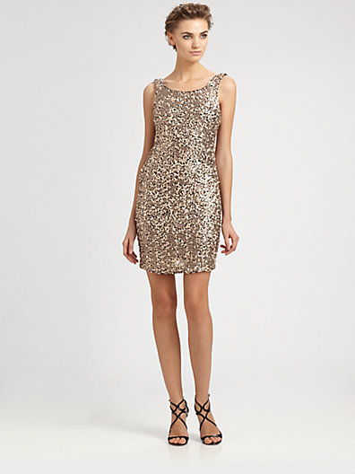 Laundry by Shelli Segal Sequined Dress