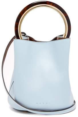 Marni Pannier leather cross-body bag