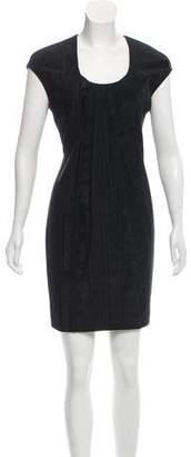 Yigal Azrouel Cap Sleeve Mini Dress