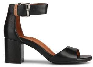 Kenneth Cole Gentle Souls by Christa Leather Ankle Strap Sandals