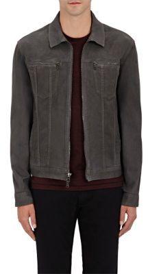 John Varvatos Star U.S.A. Men's Denim Jacket-BLACK $298 thestylecure.com