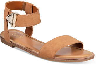 Bar Iii Victor Two-Piece Flat Sandals, Only at Macy's Women's Shoes $59.50 thestylecure.com