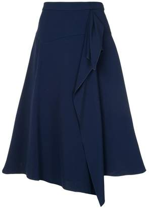 DELPOZO flared A-line skirt