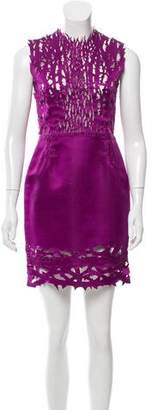 Giles Satin Cutout Dress
