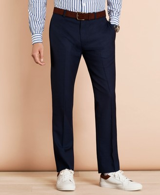 Brooks Brothers Wool Bird's-Eye Suit Trousers