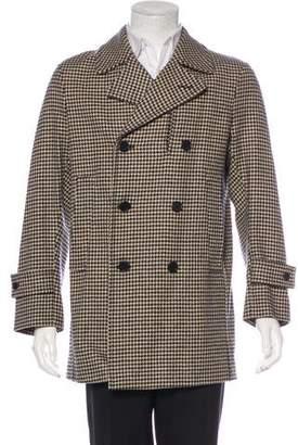 MACKINTOSH Houndstooth Wool Coat