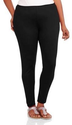 24/7 Comfort Apparel Plus Size Women's Leggings