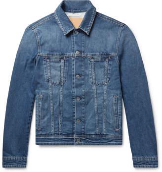 Acne Studios Pass Slim-Fit Stretch-Denim Jacket