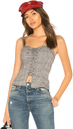 by the way. Charlotte Lace Up Bustier