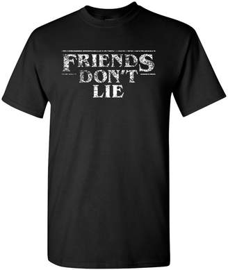 UGP Campus Apparel Friends Don't Lie - Stranger of Things T-Shirt - 2X-Large