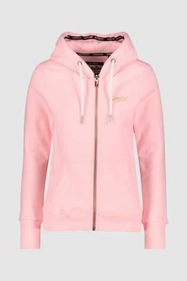17a8330407967 Next Womens Superdry Pink Lux Zip Hoody
