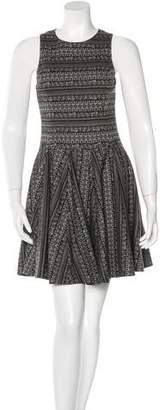 Tibi Fair Isle Sleeveless Dress