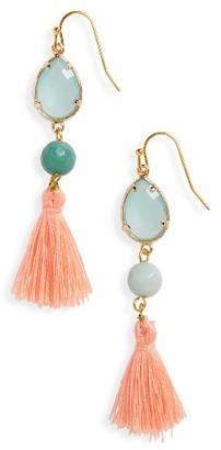 Women's Panacea Tassel Drop Earrings $18 thestylecure.com