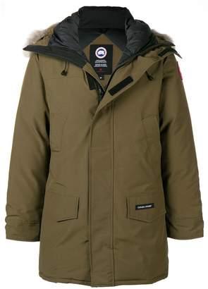 Canada Goose fur-trimmed hooded parka coat