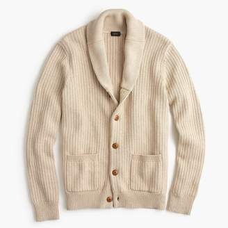 J.Crew Shawl-collar cardigan sweater