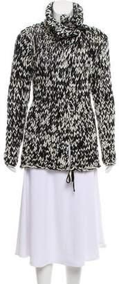 Diane von Furstenberg Chunky Wool Knit Cardigan