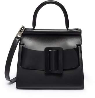 Boyy 'Karl 24' mini buckled leather satchel