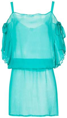 Amir Slama silk beach cover-up