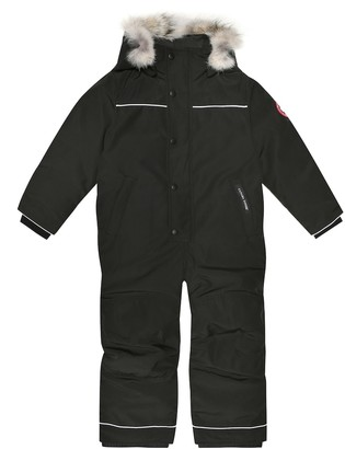Canada Goose Kids Grizzly down snowsuit