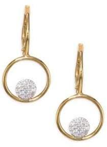 Phillips House Affair Diamond Micro Infinity Loop Earrings