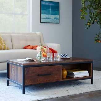 west elm Metal + Wood Coffee Table
