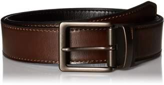 Levi's Men's Reversible Bridle Belt with Antique Finish Buckle