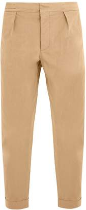 Barena VENEZIA Tapered-leg stretch-cotton cropped trousers