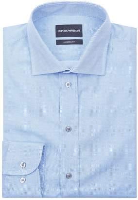 Emporio Armani Micro Dot Formal Shirt