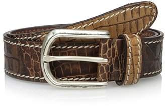 Bolliver Men's Printed Croc Belt